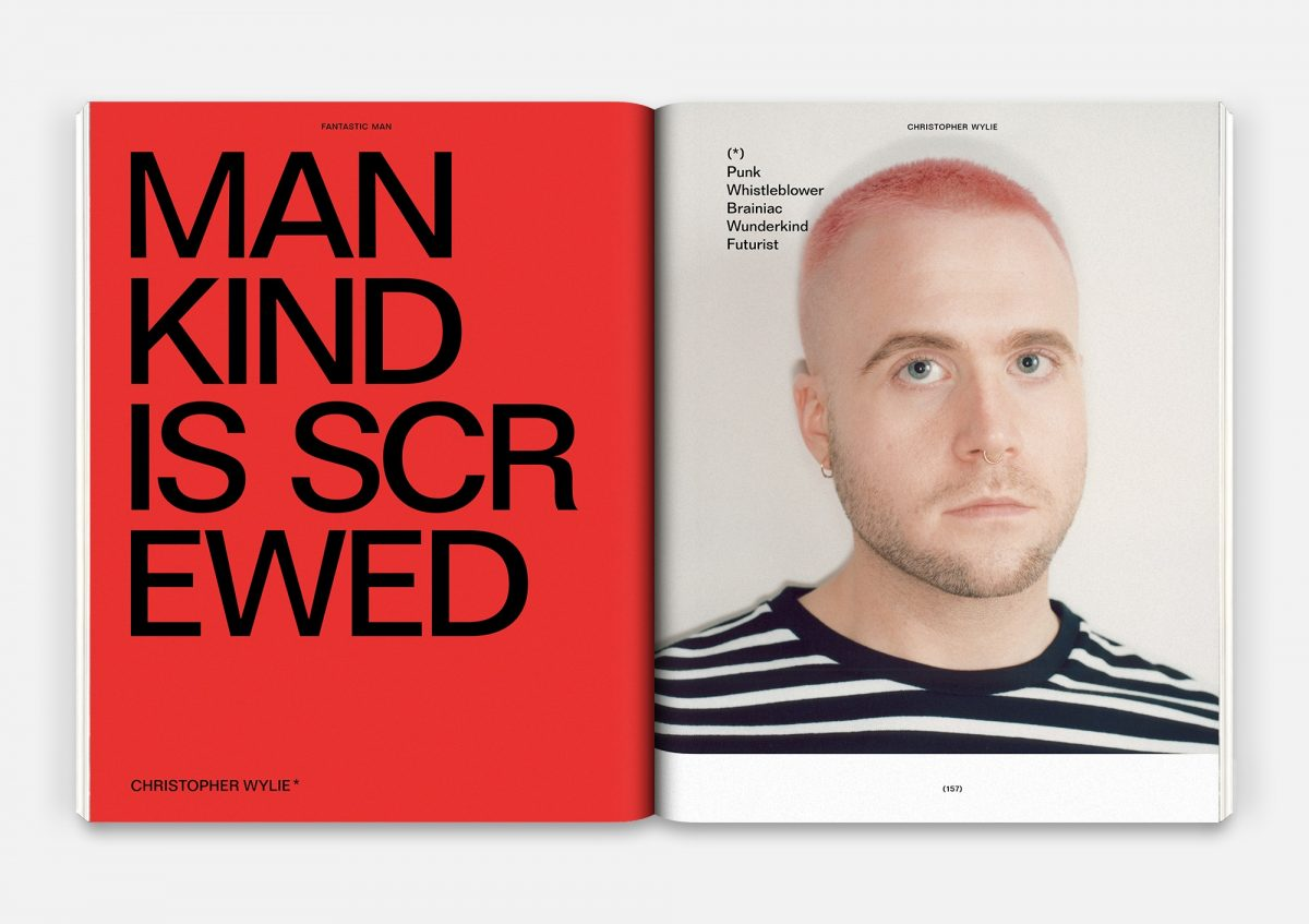 Christopher Wylie for Fantastic Man